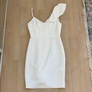 NWT 00 CLUB MONACO WHITE DRESS